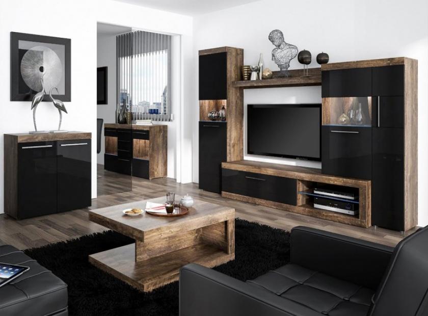 Vintage Woonkamer Meubels : Het meubilair voor de woonkamer vintage of modern domadeco