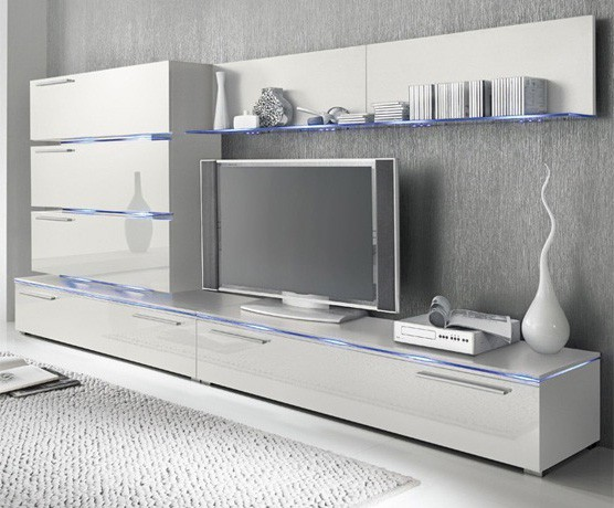 Liren 1 - tv meubel wit
