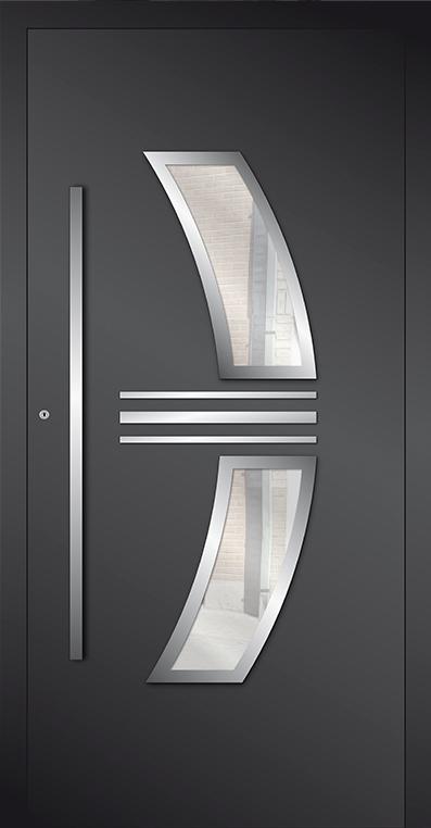 LIM ap15 - aluminium glazen voordeur