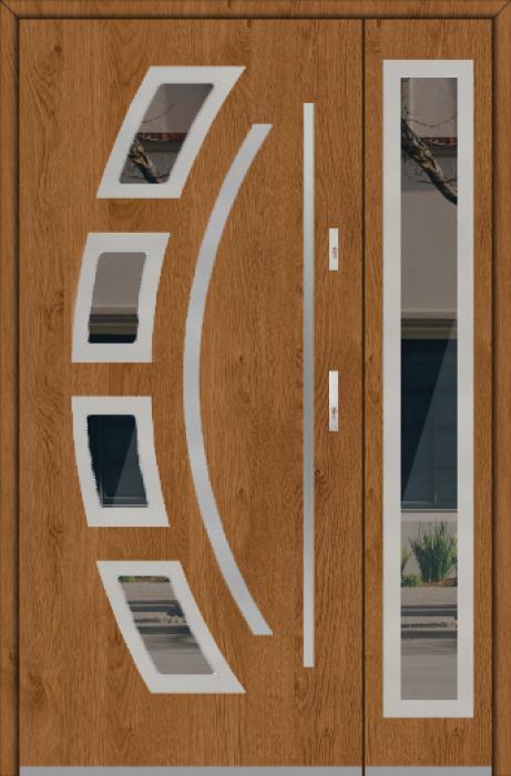 Fargo 21 DB - voordeur met kozijn