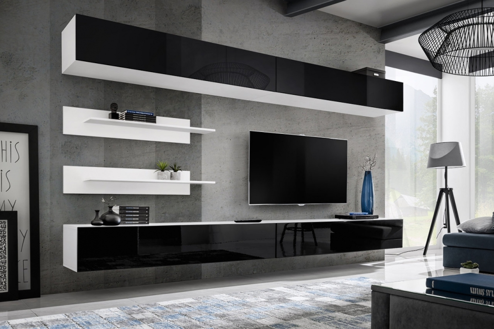 Idea I1 - modern tv wandmeubels