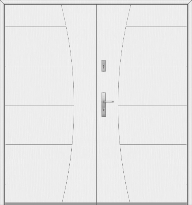 Fargo 26 G double - dubbele voordeuren / openslaande deuren