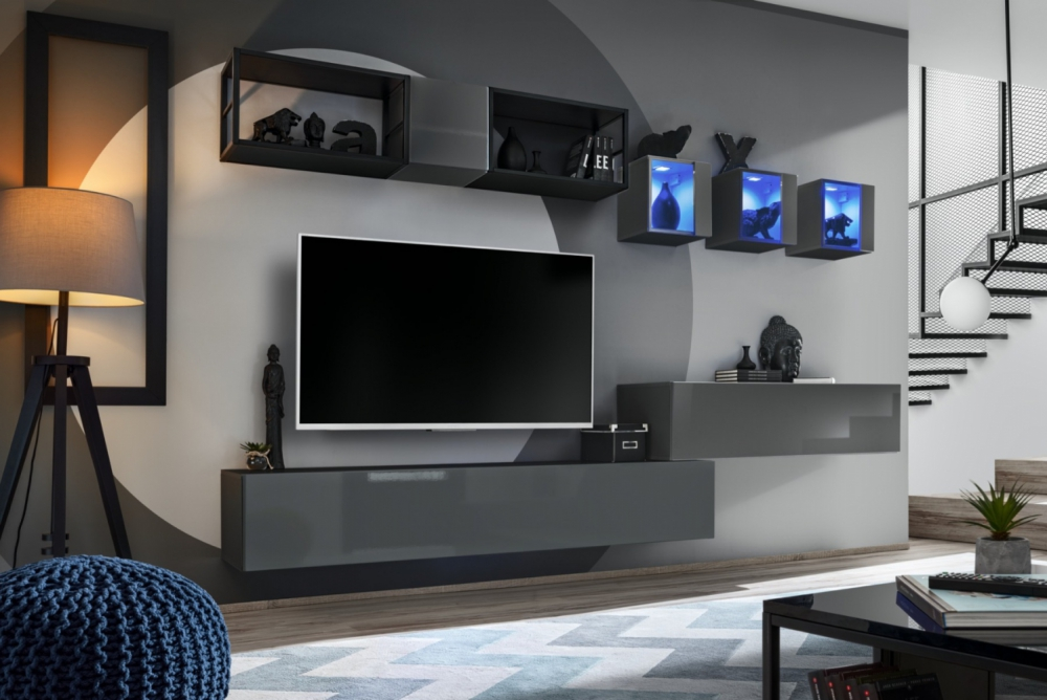 Shift M3 - modern tv-wandmeubel