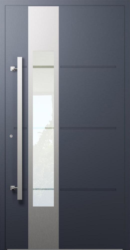 LIM W321- moderne aluminium voordeur