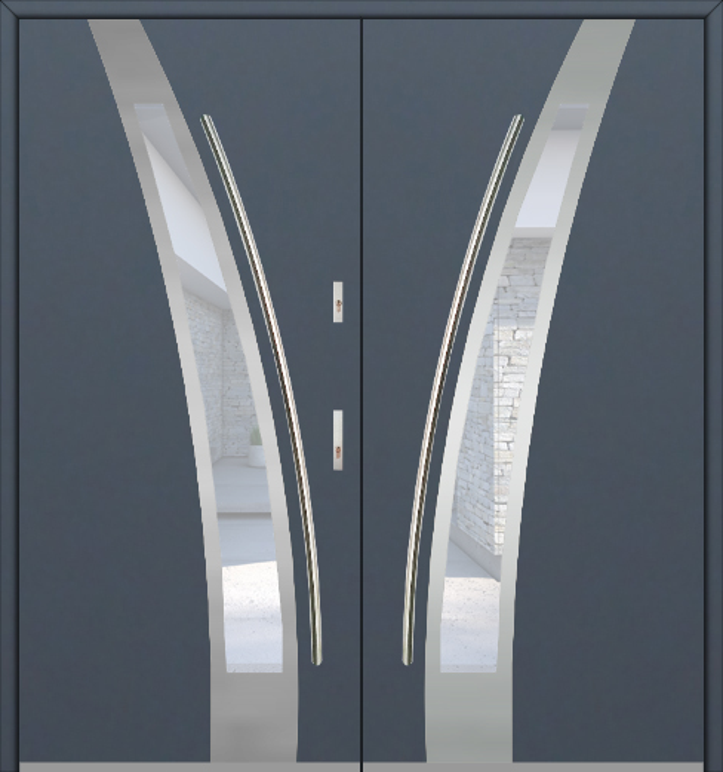 Fargo 36 double - dubbele voordeuren / openslaande deuren