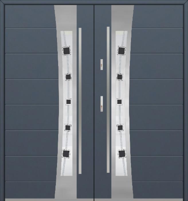Fargo 37 double - dubbele voordeur / openslaande deuren