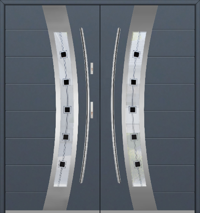 Fargo 38 double - dubbele voordeuren / openslaande deuren