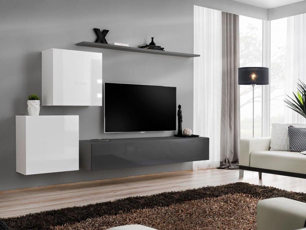 Shift 5 - tv meubel wit
