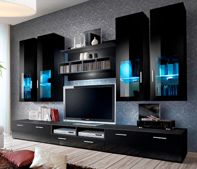 Presto 5 - tv meubel wit