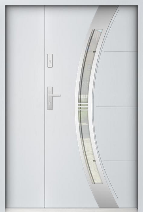 Sta Andromeda Uno - enkele deur met zijpanelen