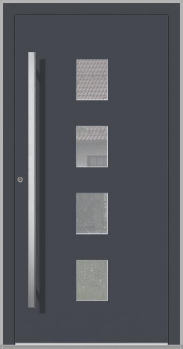 LIM Quatro - aluminium voordeuren voor woningen