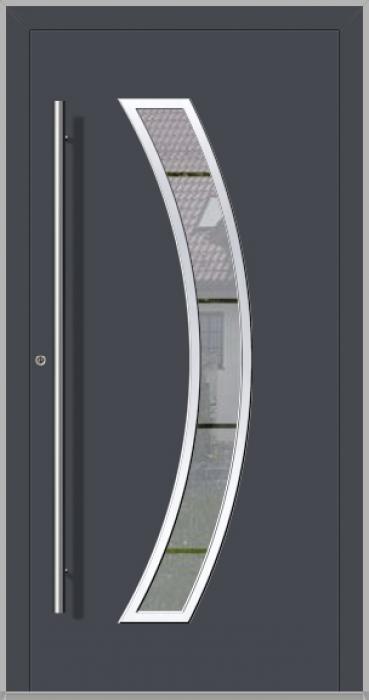 LIM Bumerang - aluminium voordeur met glas