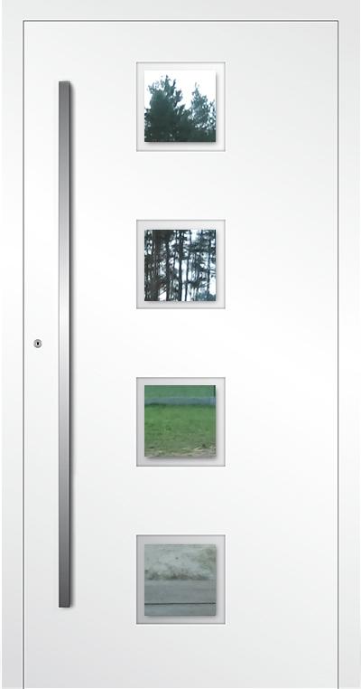LIM AP08 - aluminium glazen voordeur