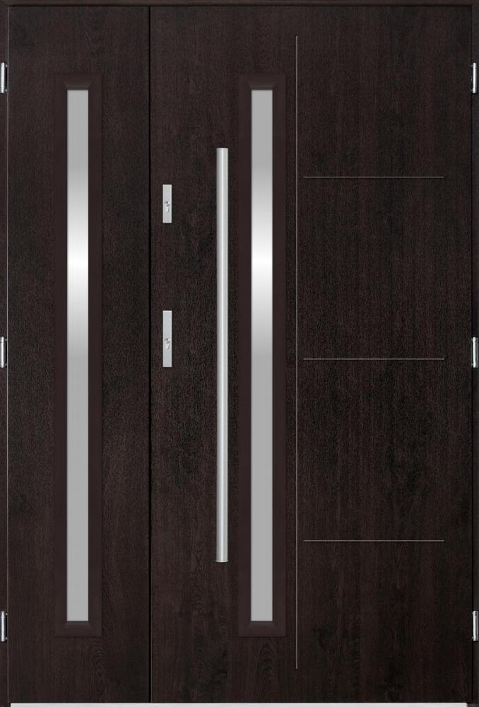 Sta Arago Duo - enkele deur met zijpanelen