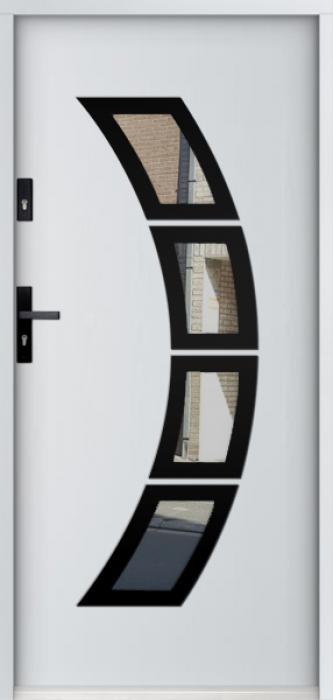 Sta Taurus noir- moderne deuren