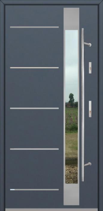 Fargo Fi07D - voordeur met glas