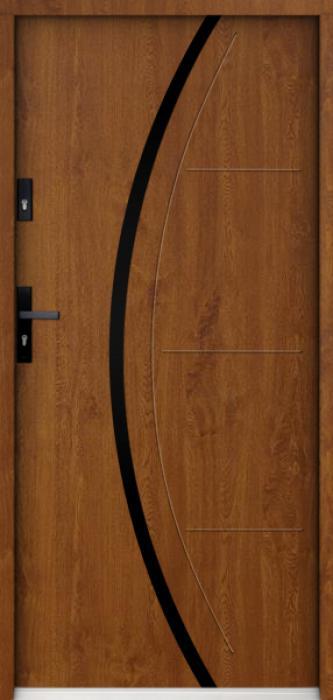 Sta Phoenix noir - moderne voordeur
