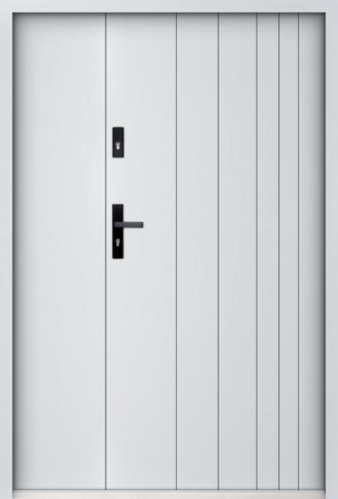Sta Gutenberg Uno - enkele deur met zijpanelen