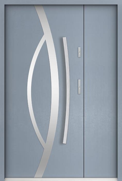 Sta Kastor Uno - enkele deur met zijpanelen
