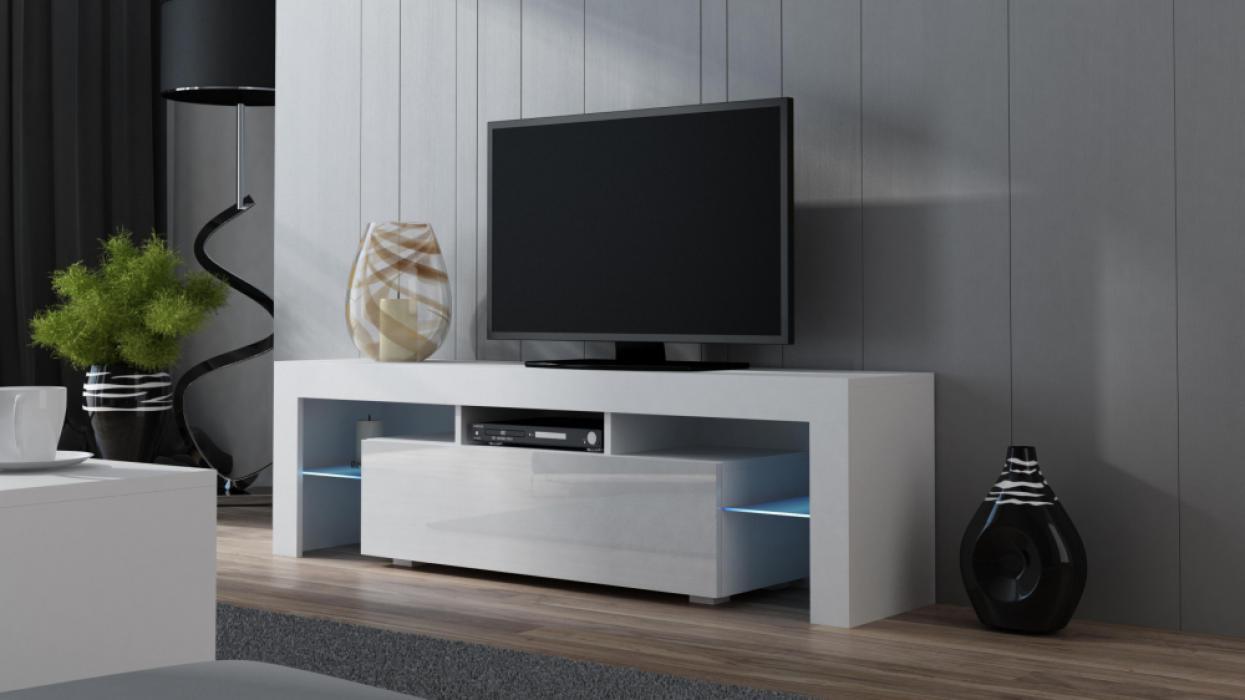 Milano 160 wit - tv tafel