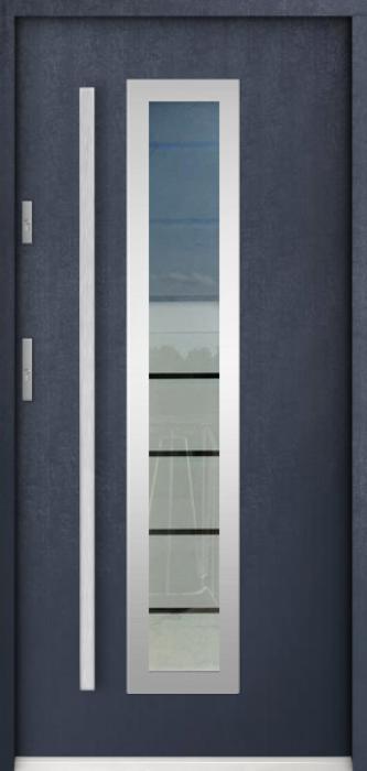 Sta Hevelius - buitendeur met glas