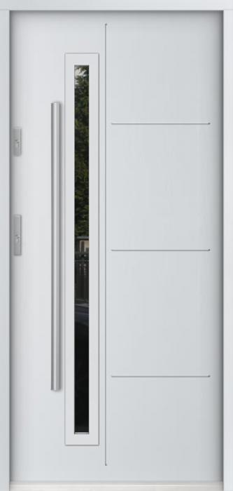 Sta Arago - nieuwe voordeur