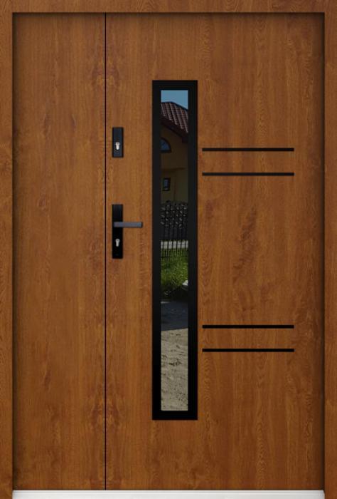 Sta Avila Neo Uno - dubbele buitendeur met glas