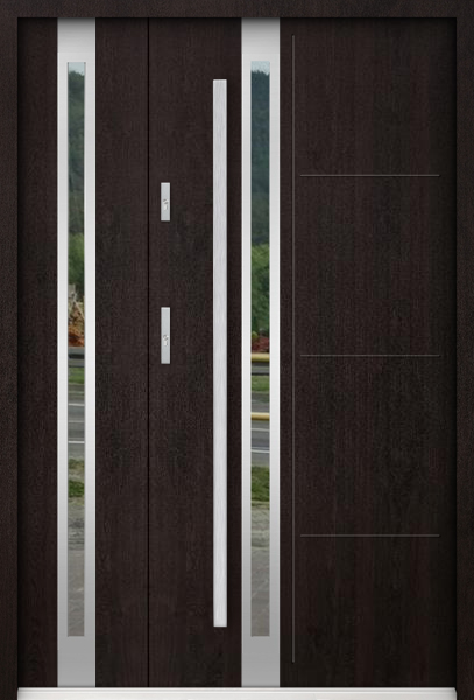 Sta Galileo Duo - dubbele buitendeur met glas