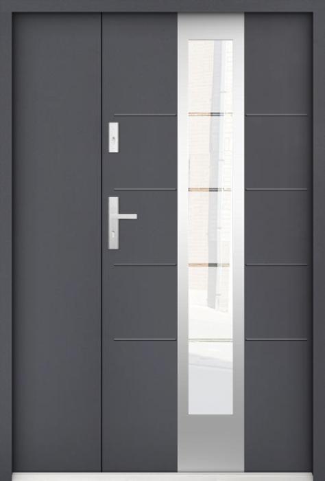 Sta Torres Uno - enkele deur met zijpanelen