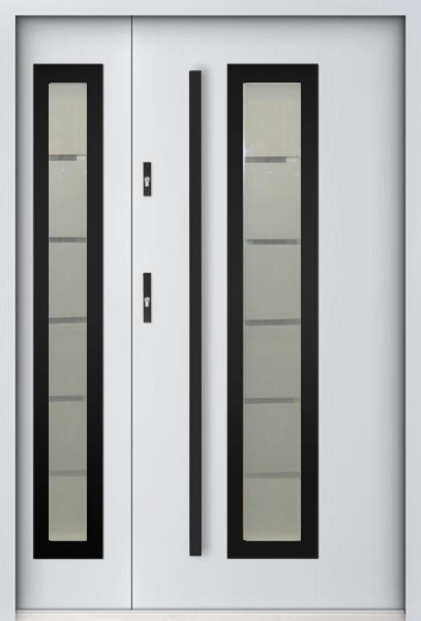 Sta Hevelius Duo Noir- deur met glas