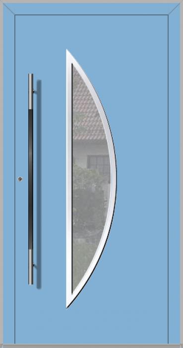 LIM Bow - aluminium voordeur met glas