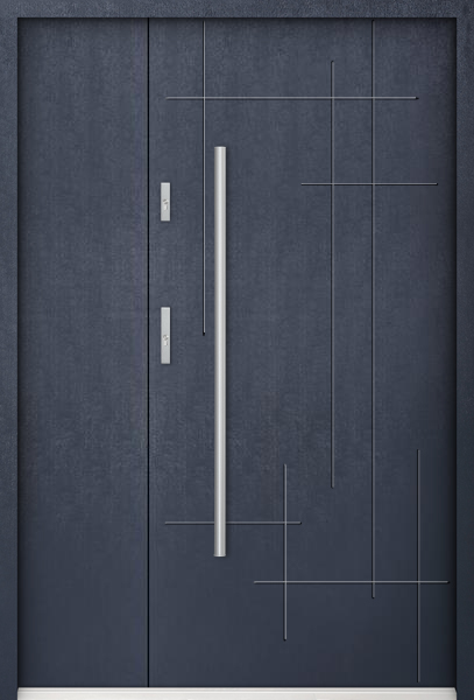 Sta Stark Uno - Enkele taatsdeur met smal zijpaneel