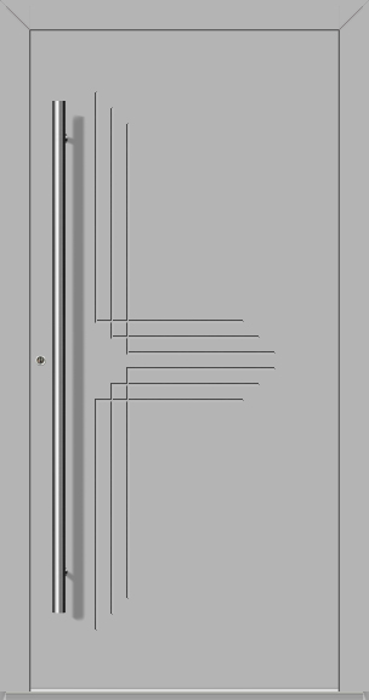LIM Hawk-t - solide aluminium voordeur