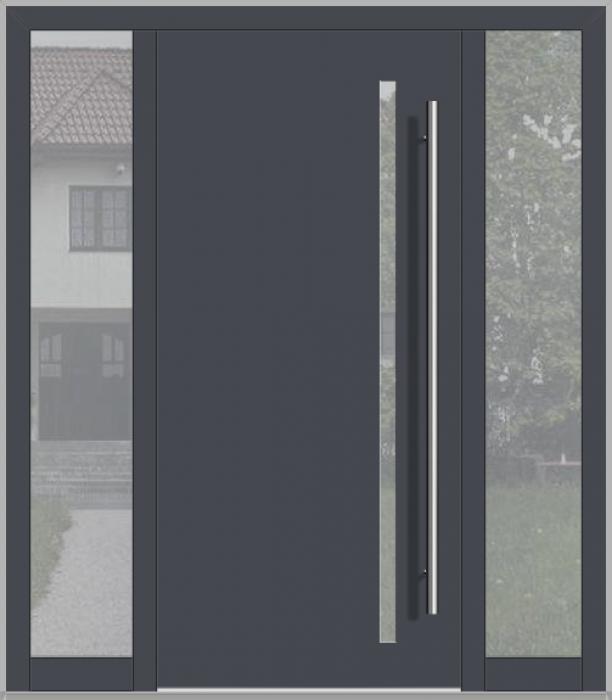LIM deur met zijlicht links en rechts (van buitenaf gezien)