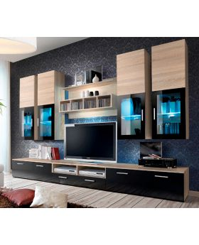 Presto 3 - tv meubel wit