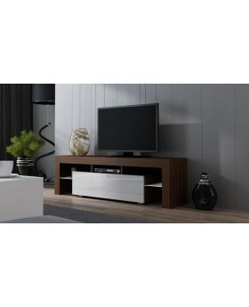 Milano 160 walnoot - tv dressoir